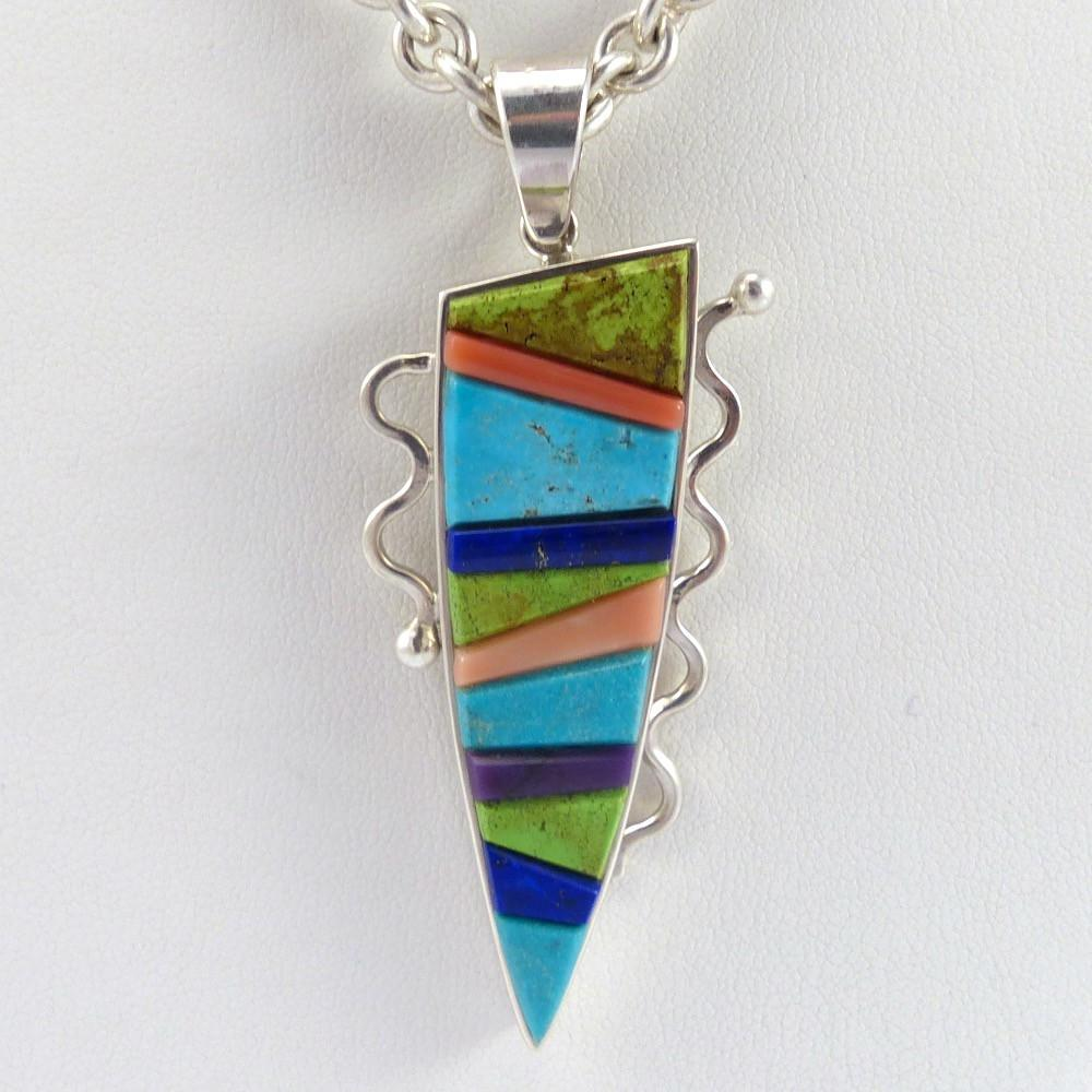 Colorful Pendant on Chain - Jewelry - Noah Pfeffer - 1