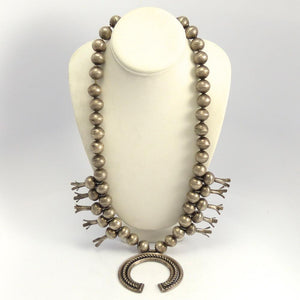 1920s Squash Blossom Necklace, Vintage Collection, Jewelry, Garland's Indian Jewelry