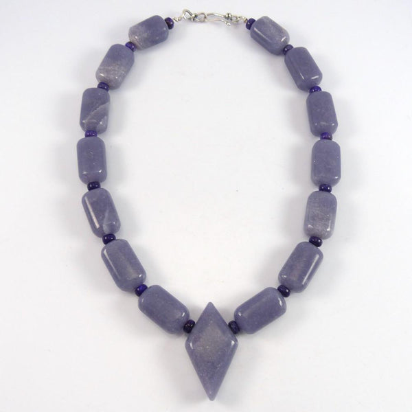 Lepidolite and Sugilite Necklace - Jewelry - Bruce Eckhardt - 1