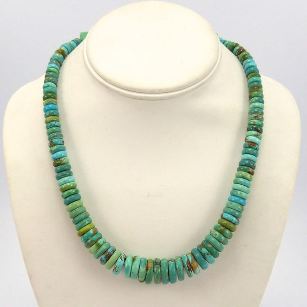 Royston Turquoise Necklace, Bruce Eckhardt, Jewelry, Garland's Indian Jewelry