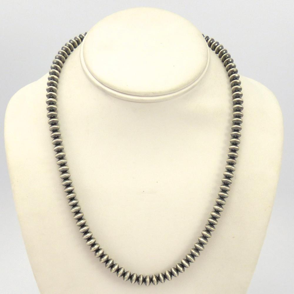 navajo pearl necklace by ruby garland s indian jewelry