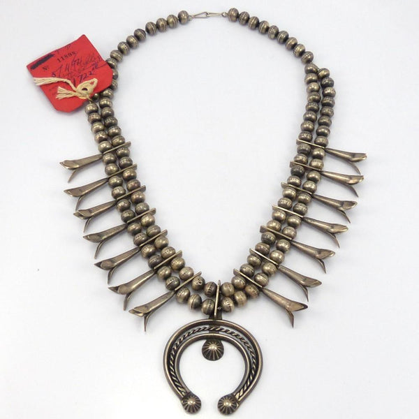 1940s Squash Blossom Necklace