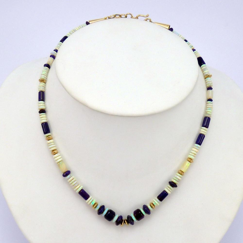 opal and sugilite necklace garland s indian jewelry