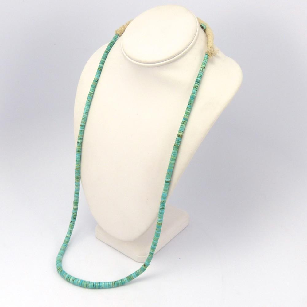 Fox Turquoise Necklace, Ray Lovato, Jewelry, Garland's Indian Jewelry