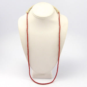Coral Necklace, Ray Lovato, Jewelry, Garland's Indian Jewelry