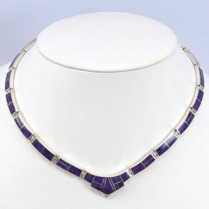 Sugilite Inlay Necklace