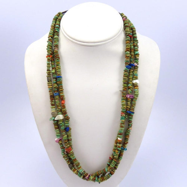 Multi-Stone Bead Necklace, Mary Calabaza, Jewelry, Garland's Indian Jewelry