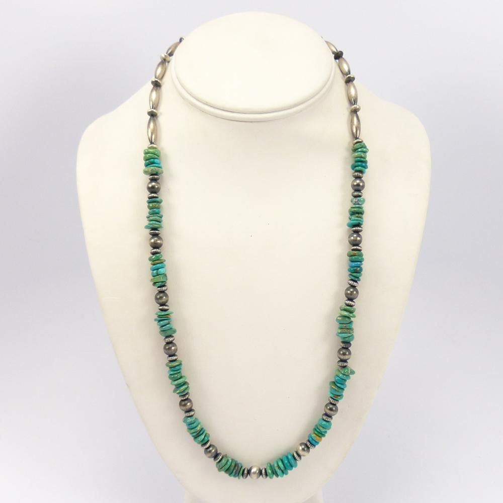 Cripple Creek Turquoise Necklace Garlands Indian Jewelry