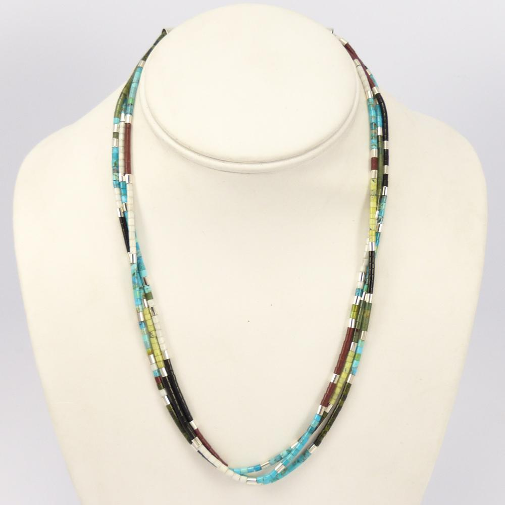 Colorful Heishi Necklace