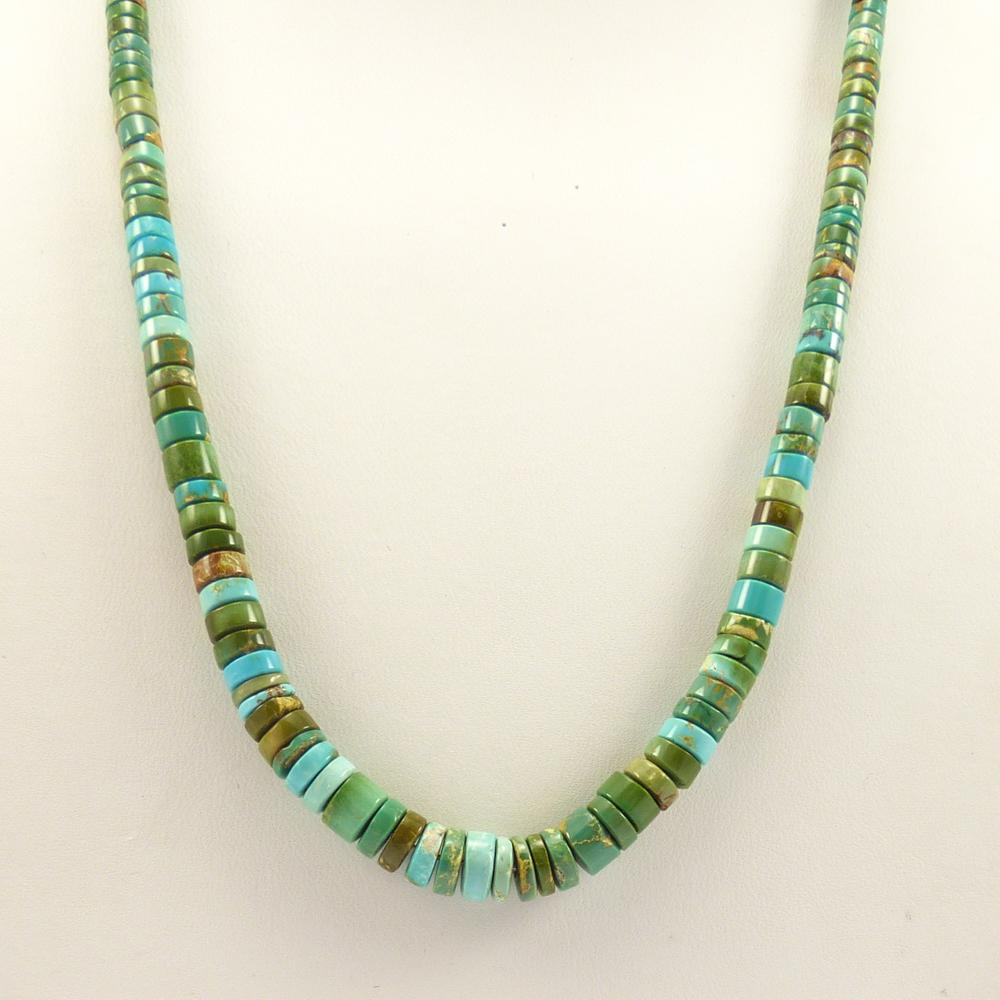 Stormy Mountain Turquoise Necklace