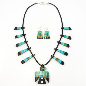 Inlaid Thunderbird Necklace