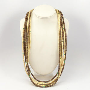 7 Strand Shell Necklace