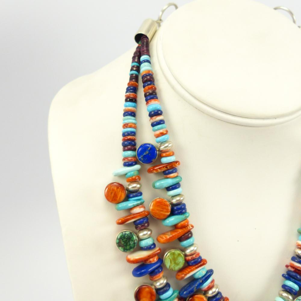 Double Strand Treasure Necklace