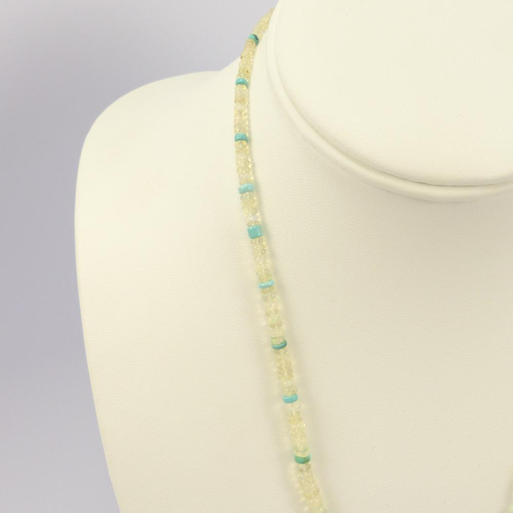 Opal and Turquoise Necklace