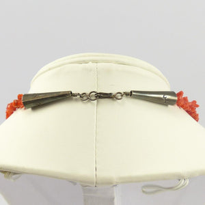1970s Branch Coral Necklace