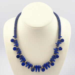 Lapis Treasure Necklace