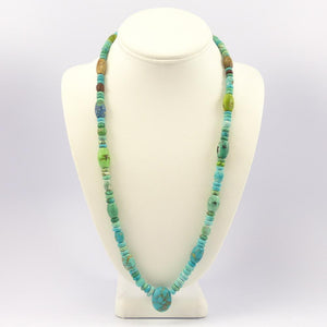 Turquoise and Azurite Necklace