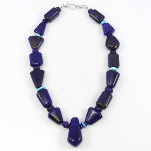 Sugilite and Turquoise Necklace