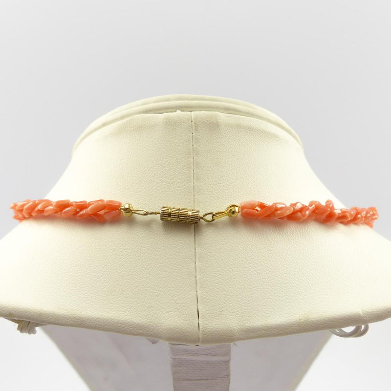 1970s Coral Bead Necklace