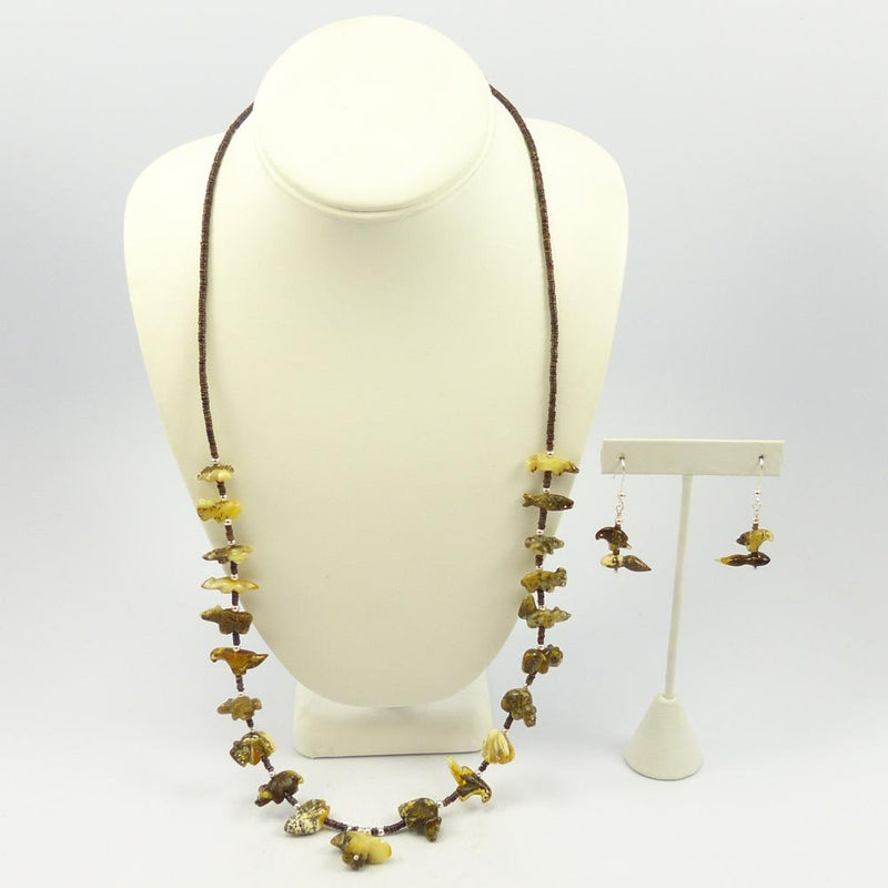 Fetish Necklace and Earring Set