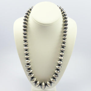 Stamped Navajo Pearl Necklace