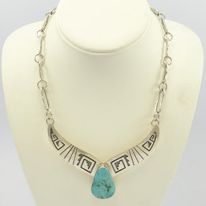 Overlay Necklace with Turquoise