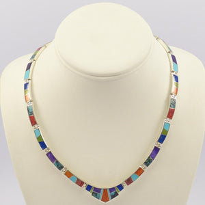 Inlay Link Necklace