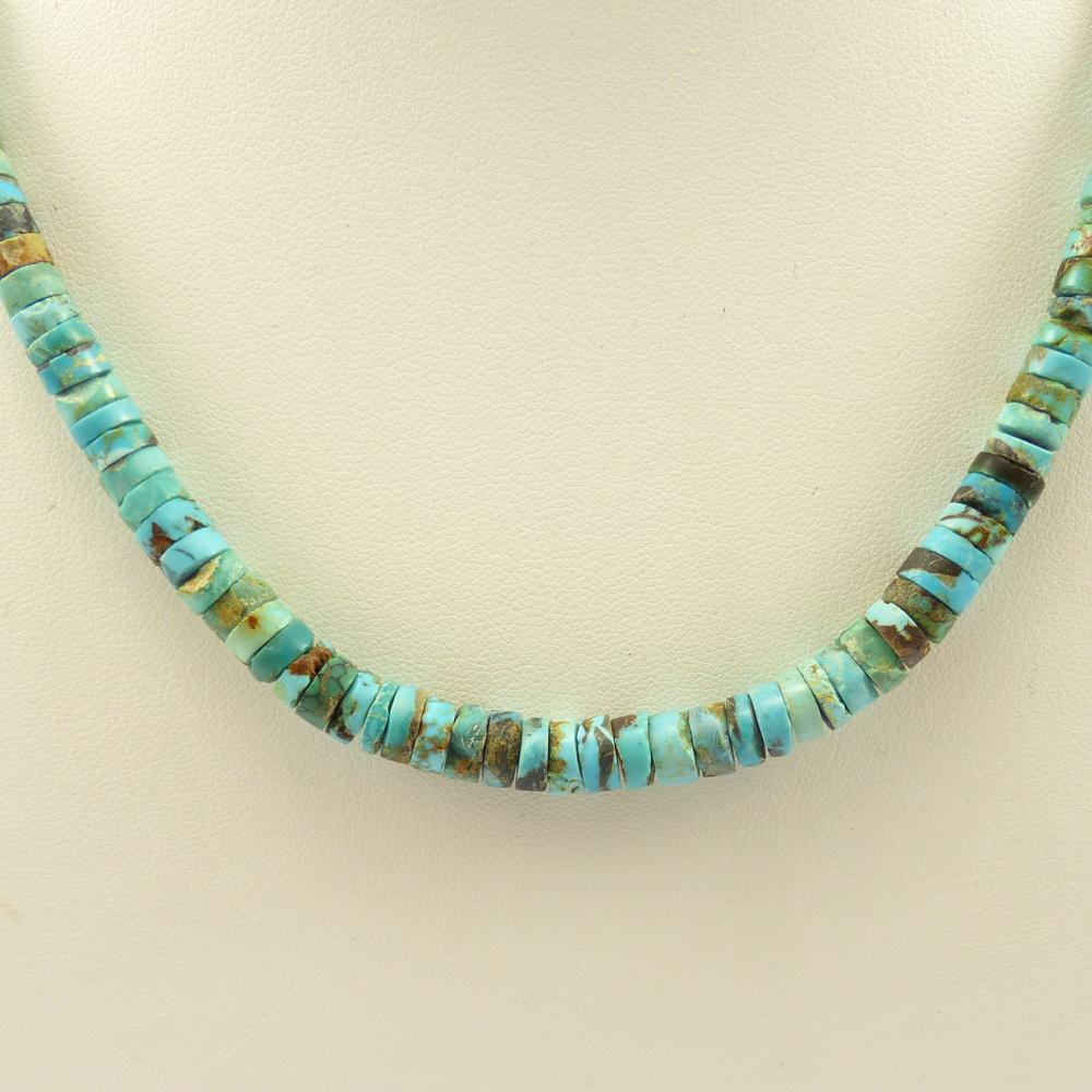 Blue Gem Turquoise Necklace