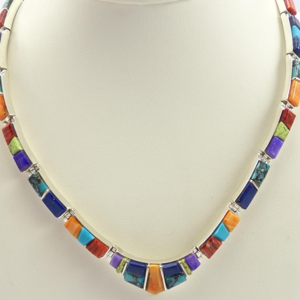 Colorful Link Necklace