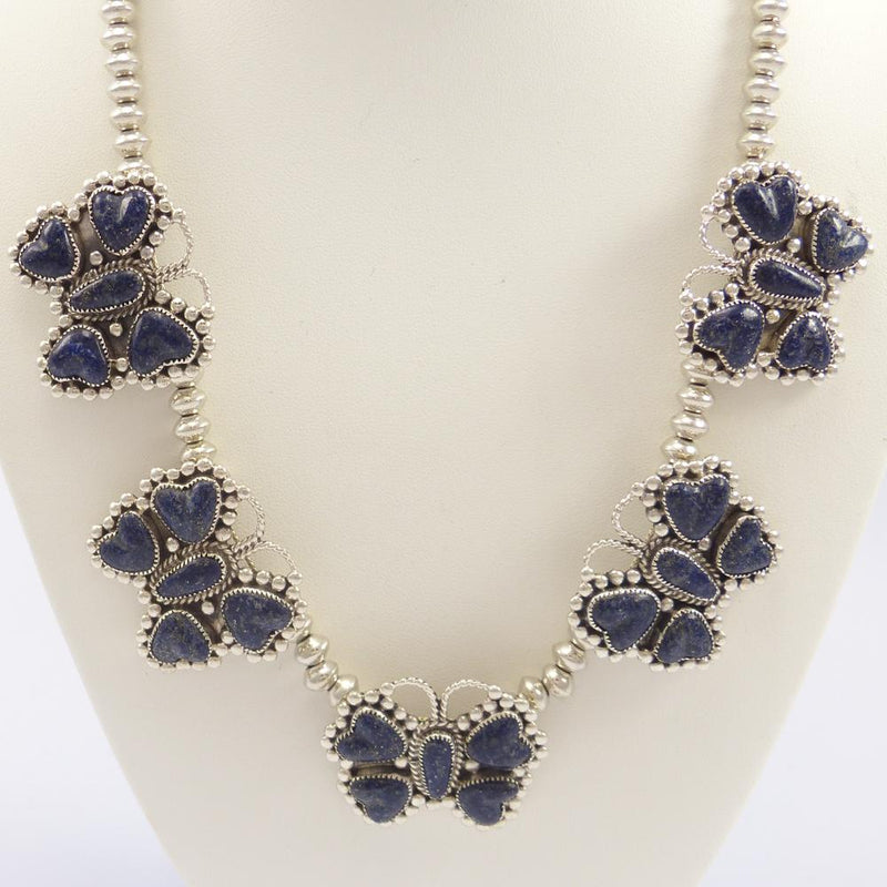 Lapis Butterfly Necklace