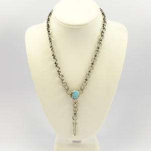 Number Eight Turquoise Necklace