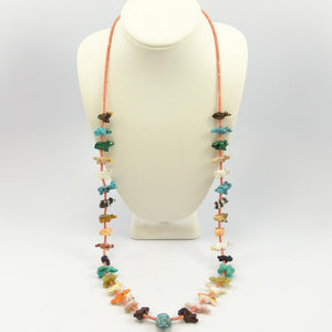 Colorful Fetish Necklace