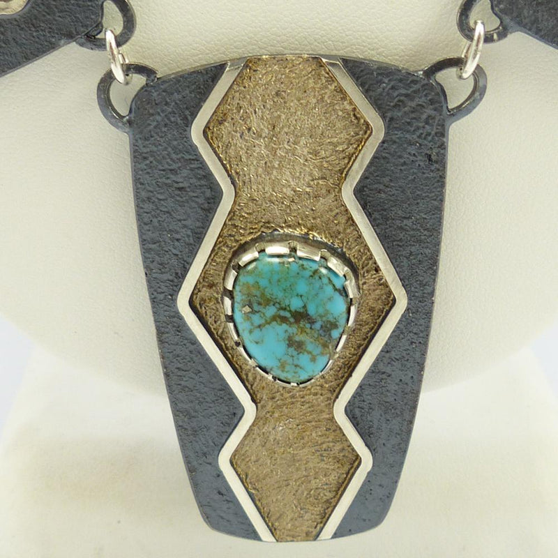 Lone Mountain Turquoise Necklace