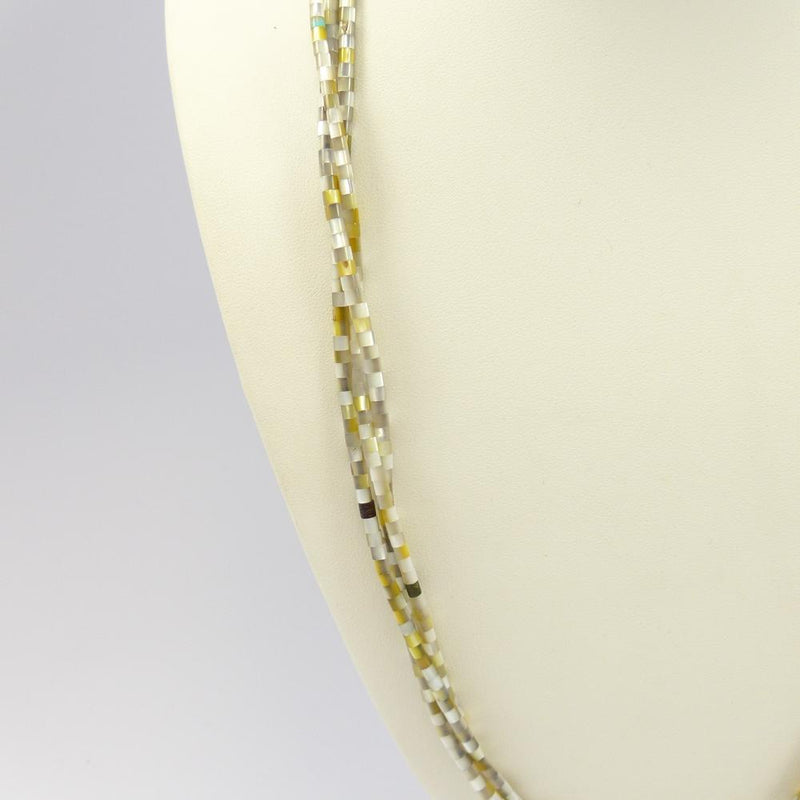 Mother of Pearl Heishi Necklace