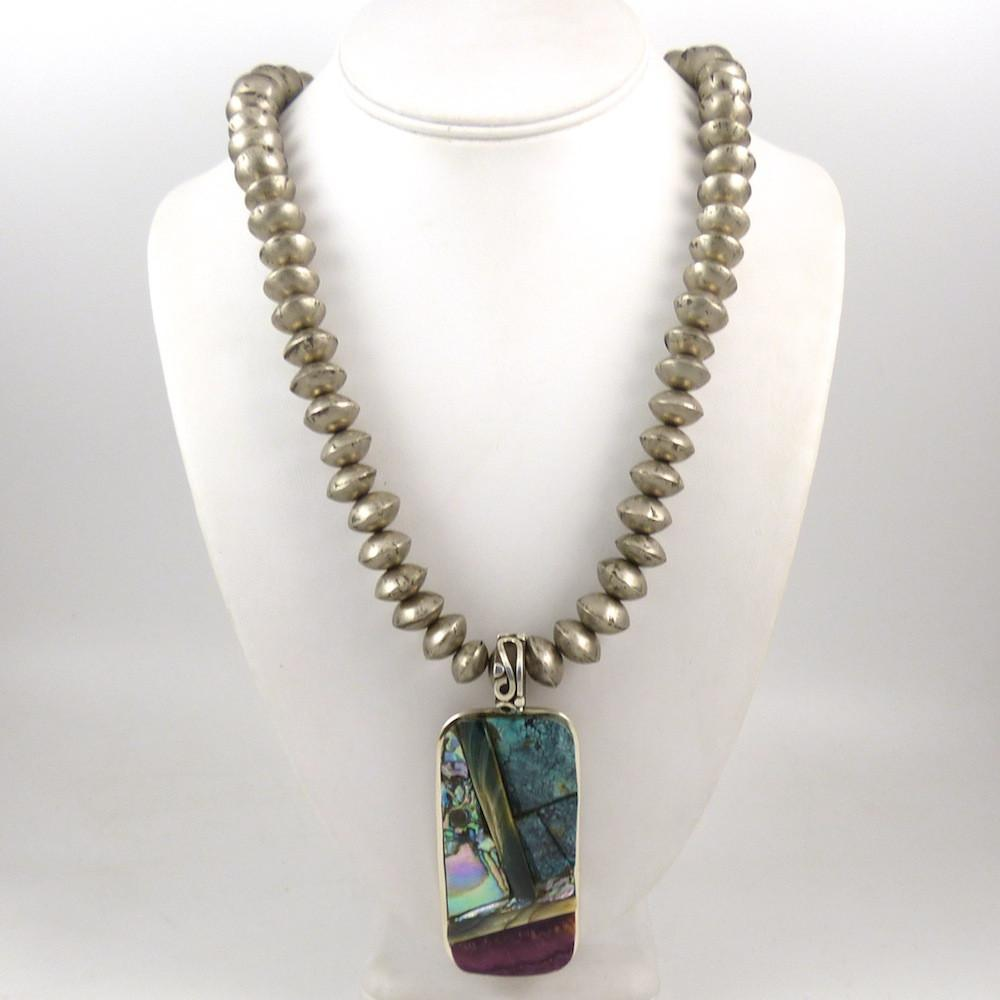 Silver Beads with Pendant - Jewelry - Consuelo Campos - 1