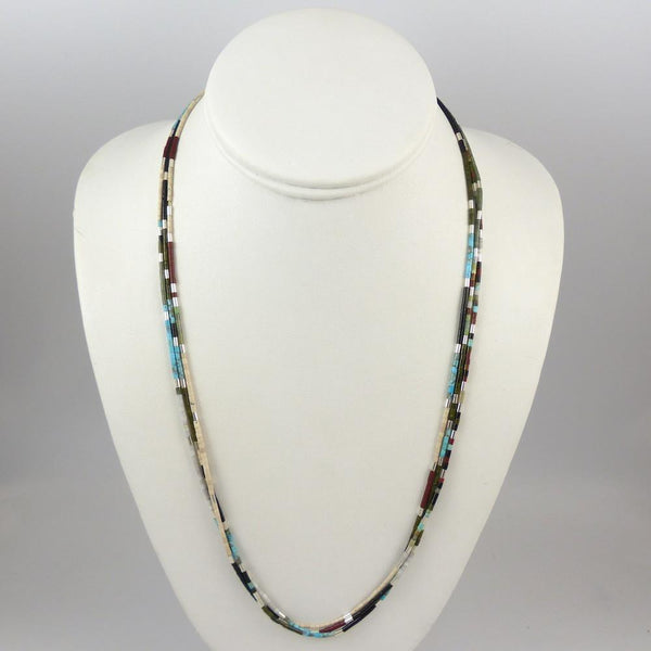 Multi-Stone Heishi Necklace - Jewelry - Me-Wee and Nick Rosetta - 1
