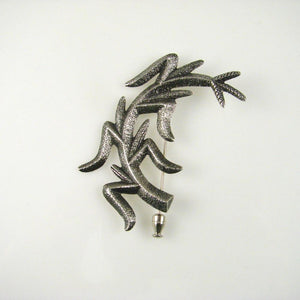Tufa Cast Corn Stalk Pin - Jewelry - Darryl Begay - 1