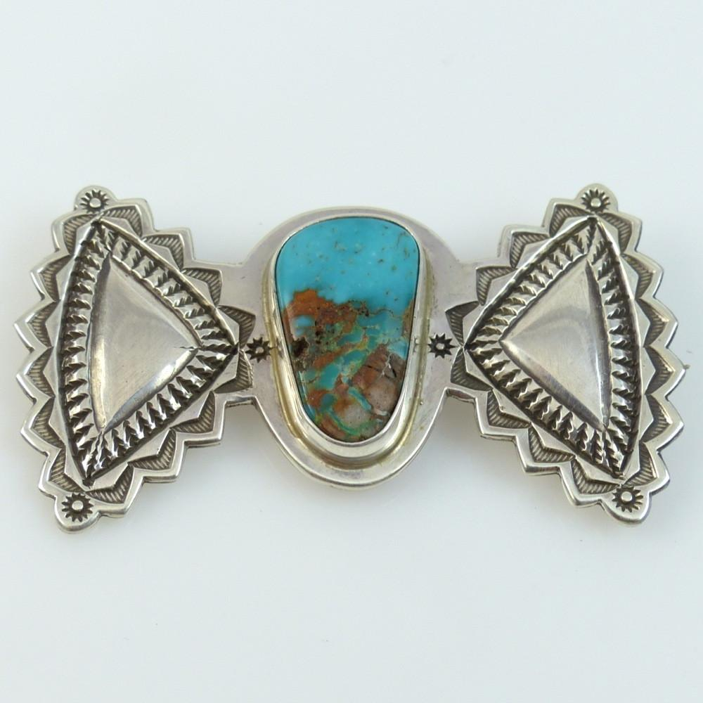 Royston Turquoise Pin - Jewelry - Perry Shorty - 1