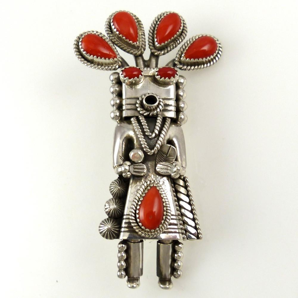 Coral Yei Pin and Pendant - Jewelry - Toby Henderson - 1