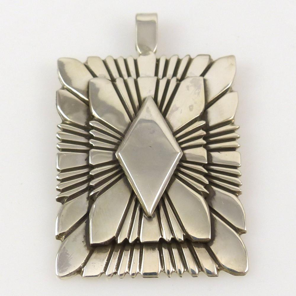 Silver Pendant - Jewelry - Lutricia Yellowhair