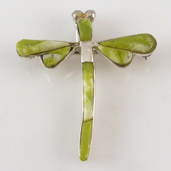 Serpentine Dragonfly Pin and Pendant - Jewelry - Na Na Ping - 1