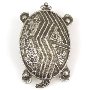 Turtle Pin and Pendant - Jewelry - Cordell Pajarito - 1