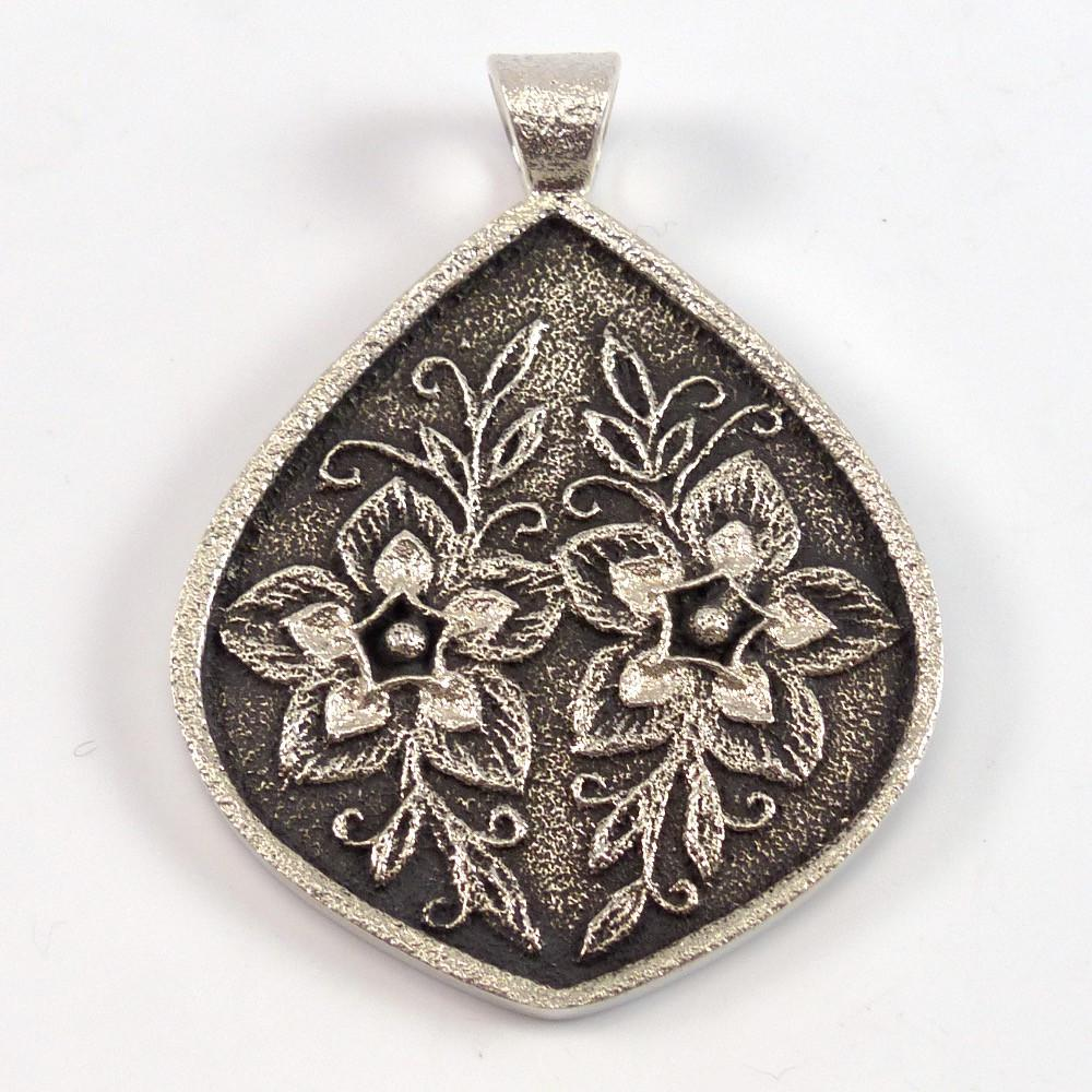 Cast Flower Pendant - Jewelry - Rebecca Begay - 1