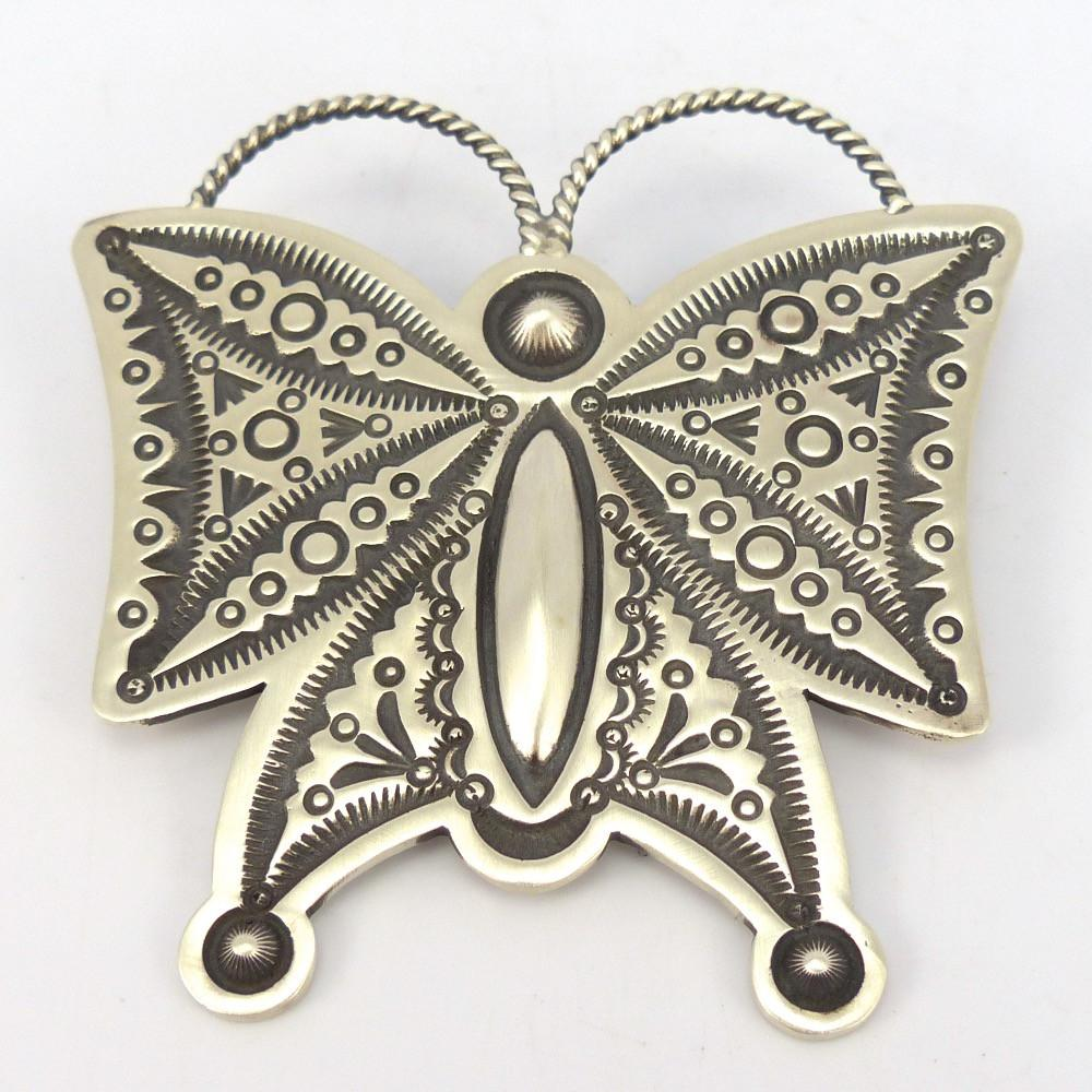 Butterfly Pin and Pendant, Herman Smith, Jewelry, Garland's Indian Jewelry