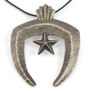 Star Naja Pendant, Lee Begay, Jewelry, Garland's Indian Jewelry