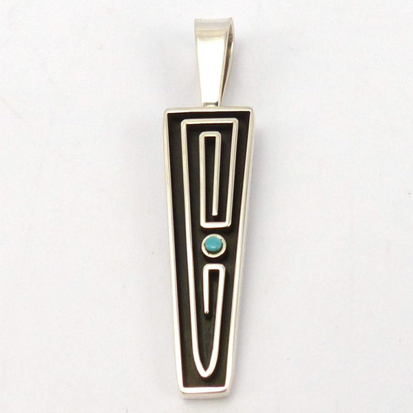 Turquoise Pendant, Albert Nells, Jewelry, Garland's Indian Jewelry