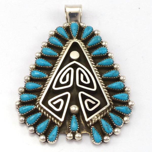 Turquoise Pendant, Billy Betoney, Jewelry, Garland's Indian Jewelry