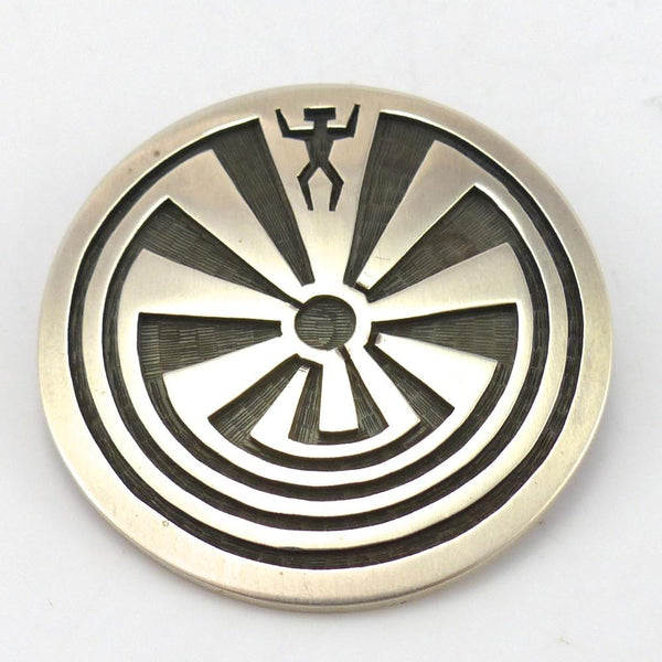 Man in the Maze Pin and Pendant