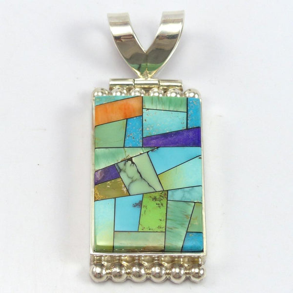 """Stained Glass"" Pendant"