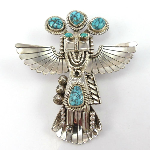 Eagle Kachina Pin and Pendant